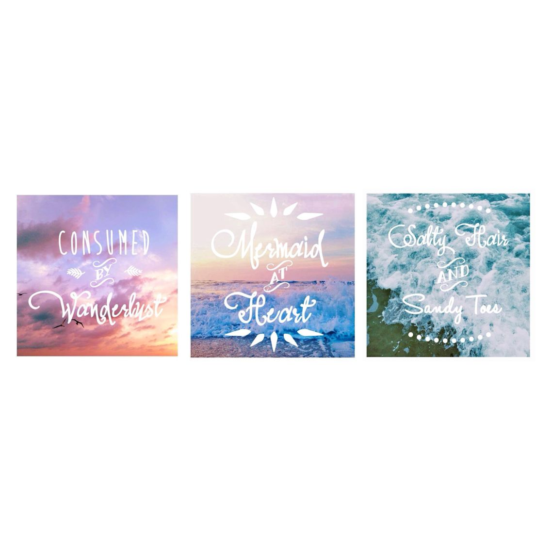 Fun beachy prints all available on the shop! TheSunKissedOne.Etsy.com #TheSunKissedOne #boho #bohemian #sunset #sunrise #wanderlust #mermaid