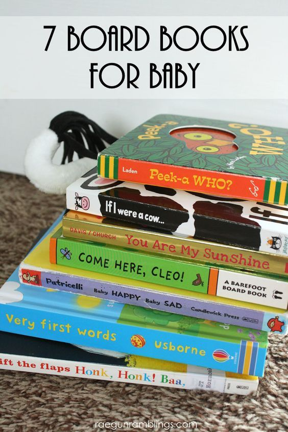 great board books for baby showers or first birthday parties: