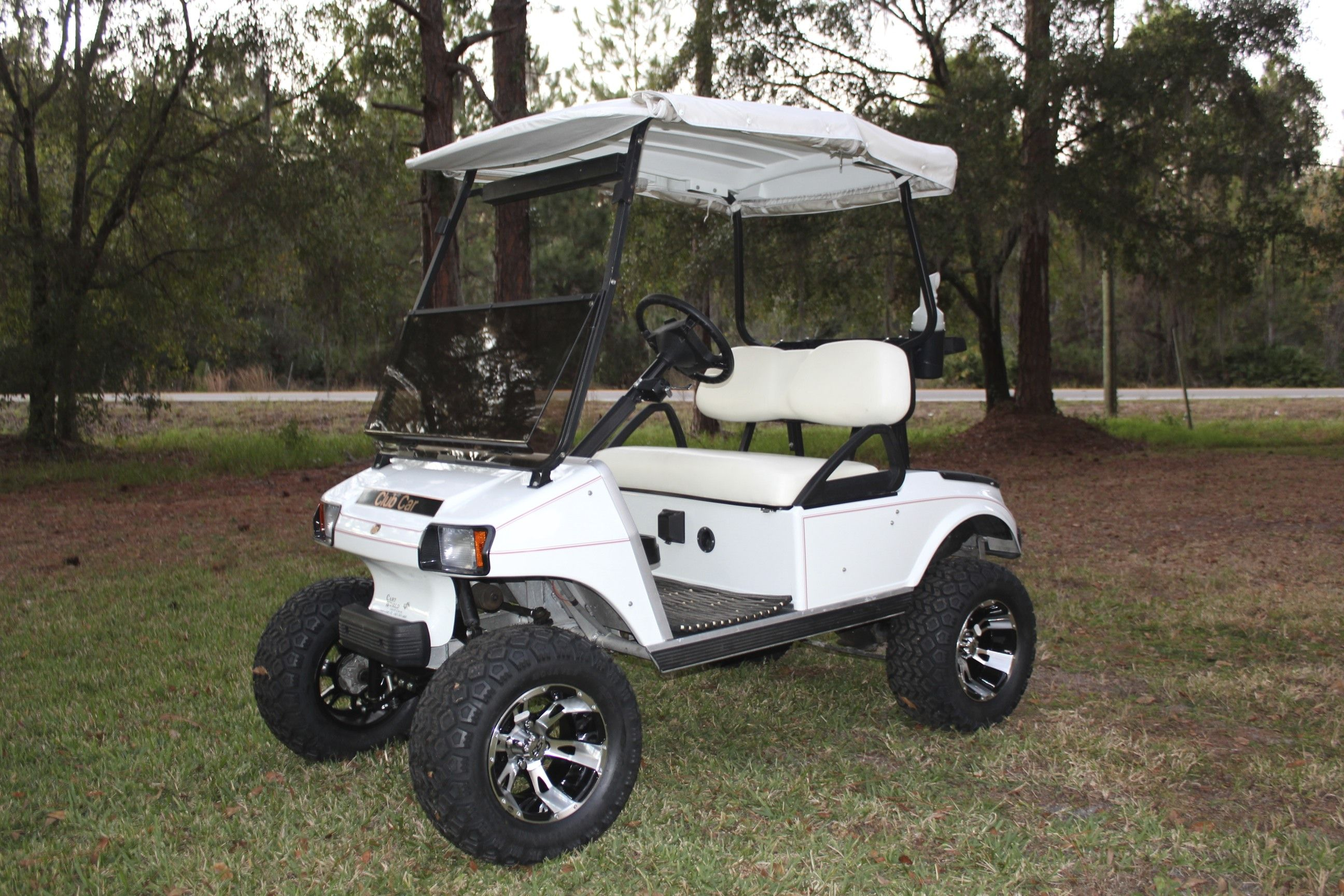 2003 Club Car DS With: 8