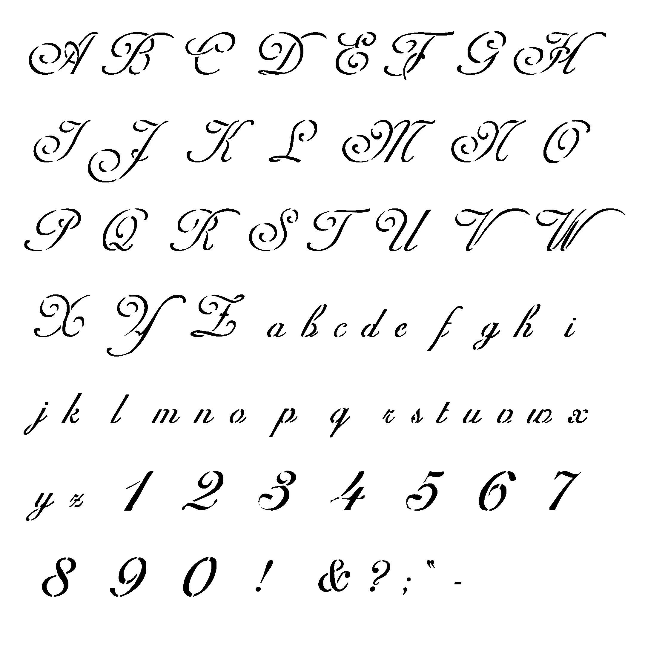 letter and number stencils for painting free printable letter stencils for painting 4 crafts 24227 | 851798da541963ffcad5bcff805b1ff6