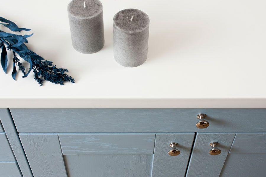 Die Vordere Kante Der Weissen Kuchenarbeitsplatte Ist Mit Einem 3mm Radius Abgerundet White Kitchen Arbeitsplatte Kuchenarbeitsplatte Arbeitsplatte Kuche