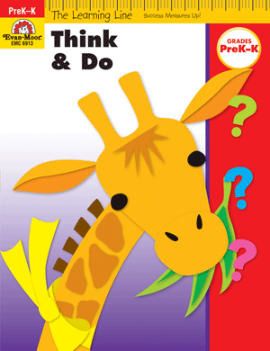Learning Line: Think and Do, Grades PreK-K - Activity Book: Evan-Moor.com