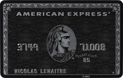 American express black card norge