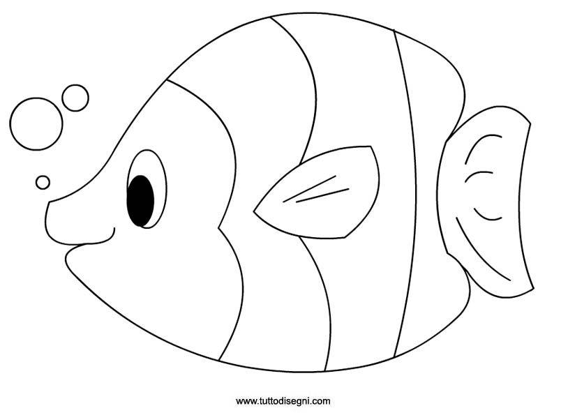 Pin di silvia fabbietti su bambini pinterest pesce for Disegni di pesci da stampare