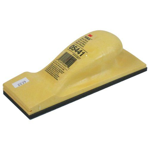 3m 5441 Stikit Hand Block 2 3 4 X 7 3 4 Blocks 3m Stikit Sanding Block Embossed Rubber Face Which Allows Good Adhesion Sanding Sanding Block Rubber Face