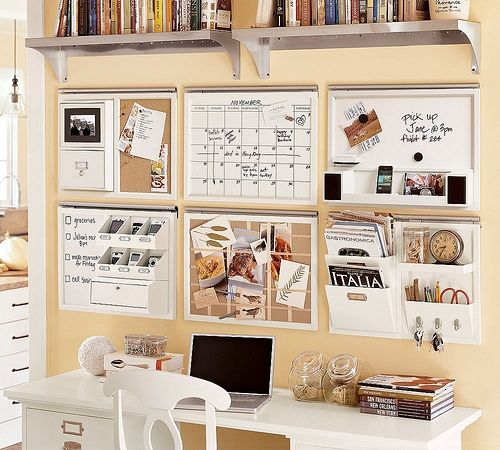 home office. SO organized!