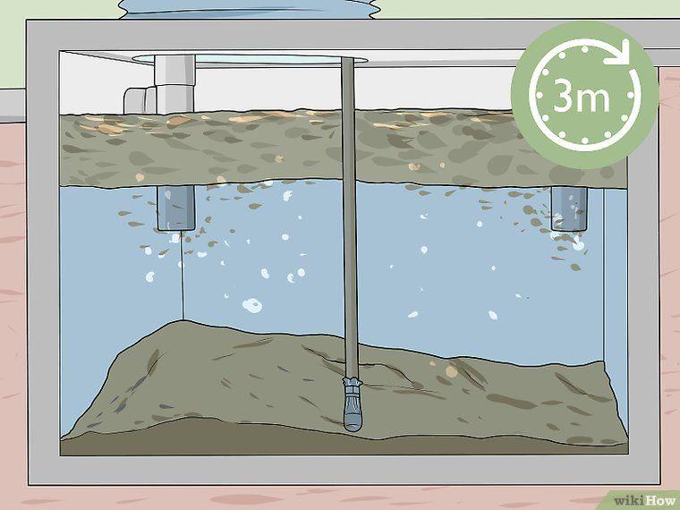Care for a septic system septic system septic tank