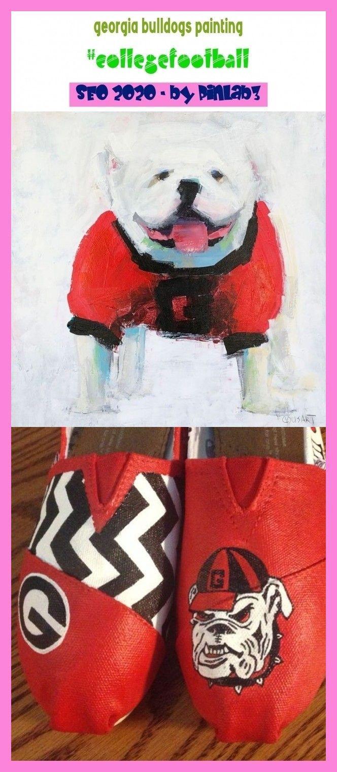 Georgia Bulldogs Painting Georgia Bulldogs Painting Georgia