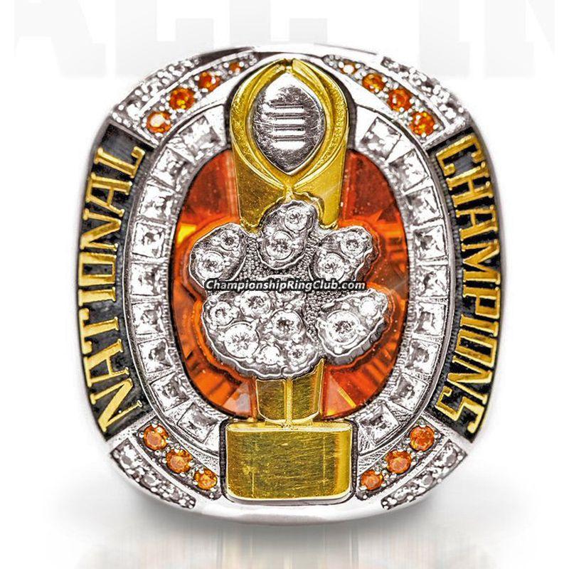 2016 clemson tigers national championship ring