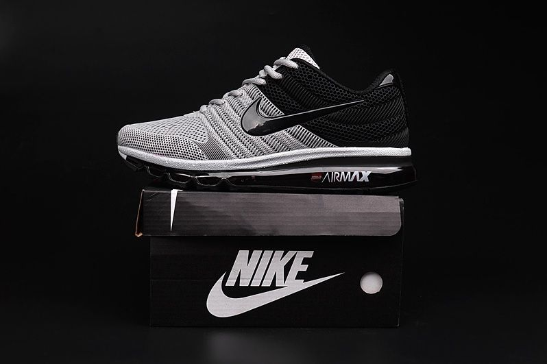 new style defe5 82d77 Nike Air Max 2017 Grey Black Men Shoes More