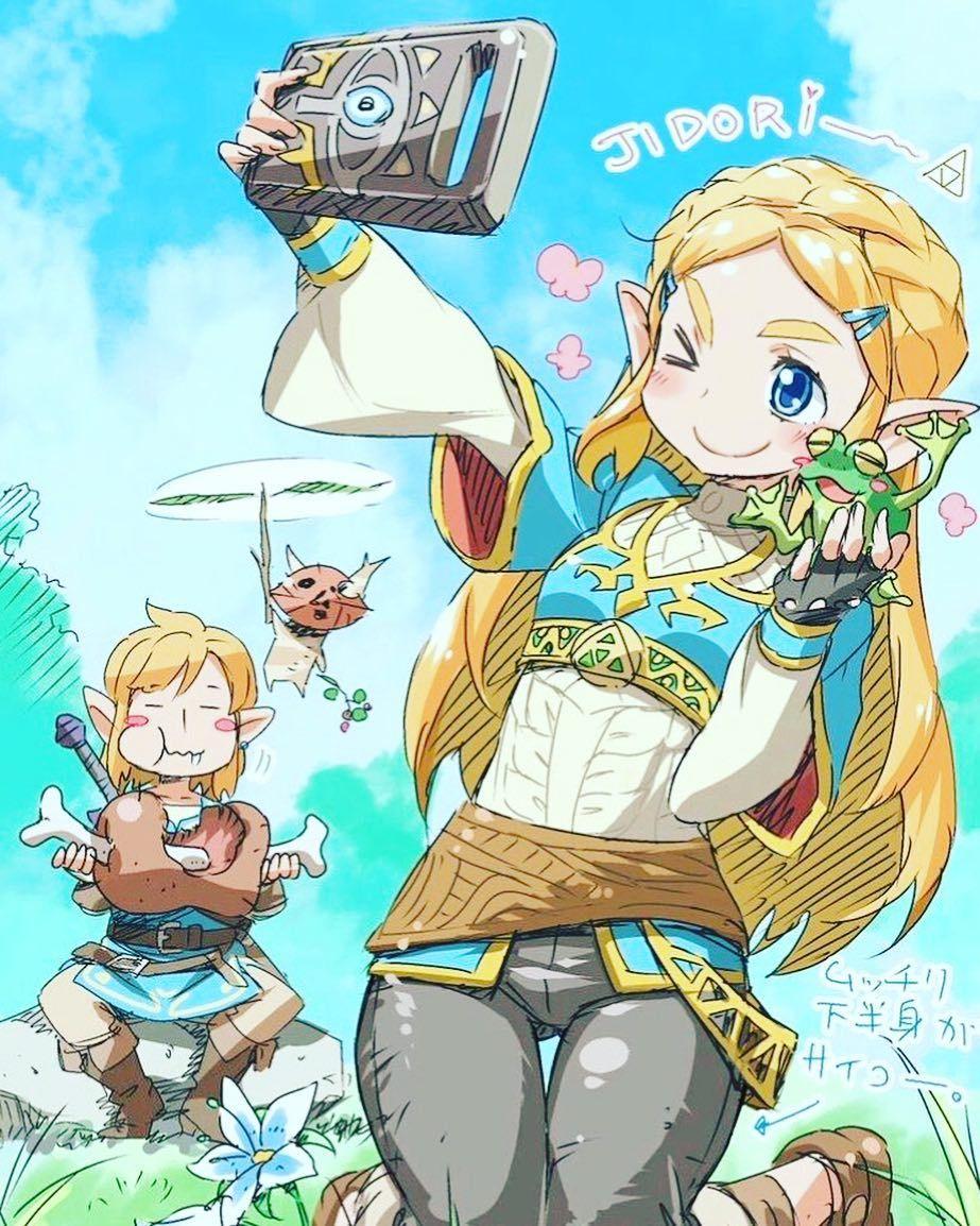 Bunny On Legend Of Zelda Breath Legend Of Zelda Breath
