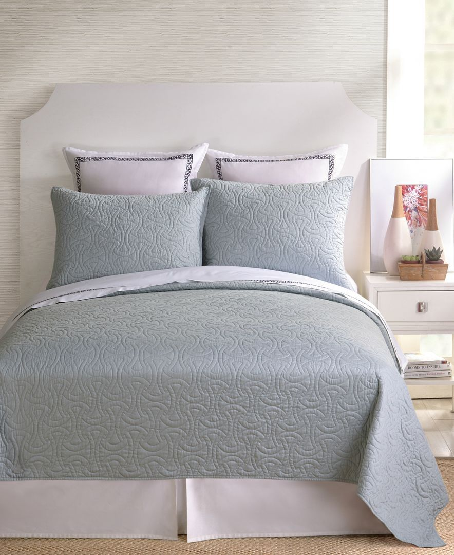 Trina Turk Santorini Grey King Coverlet Products Pinterest