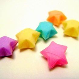 Lucky Star Tutorial New Year S Crafts For Food Origami