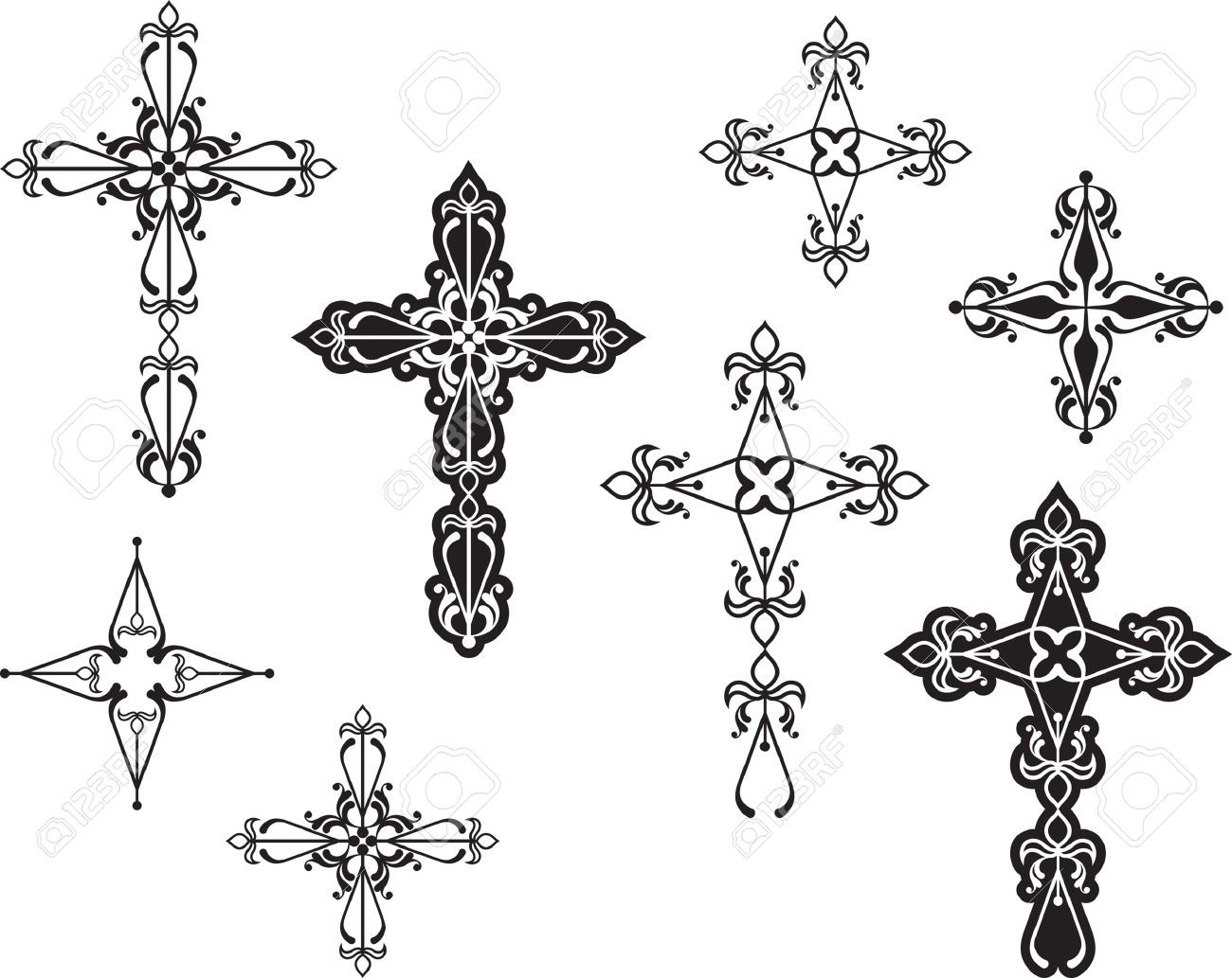 Catholic Cross Tattoos For Girls cross tattoos f...
