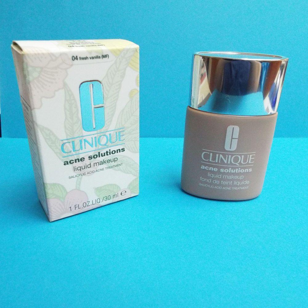 CLINIQUE Acne Solutions Liquid Makeup Foundation 04