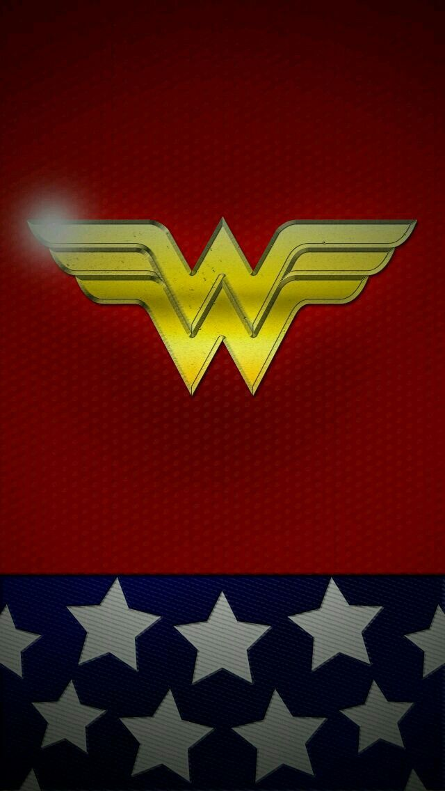 Wonder woman Superheroes Neon Light iphone case