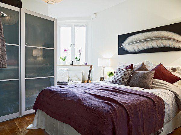 Design Small Bedroom Of 8 Sq. M. 50 Photo Ideas