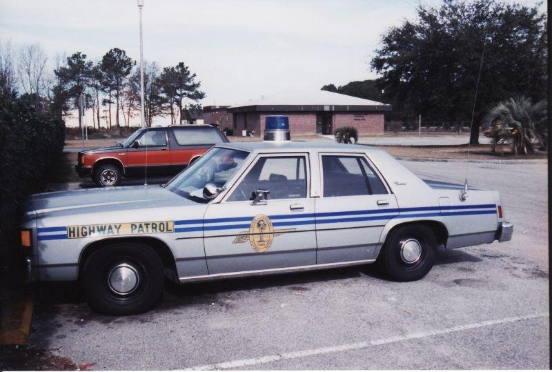 South Carolina Highway Patrol South Carolina Highway Patrol Old Police Cars Ford Police