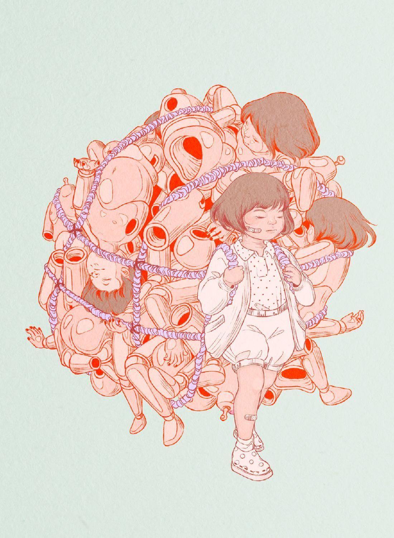 Issue 7 recovery magazine art art anime