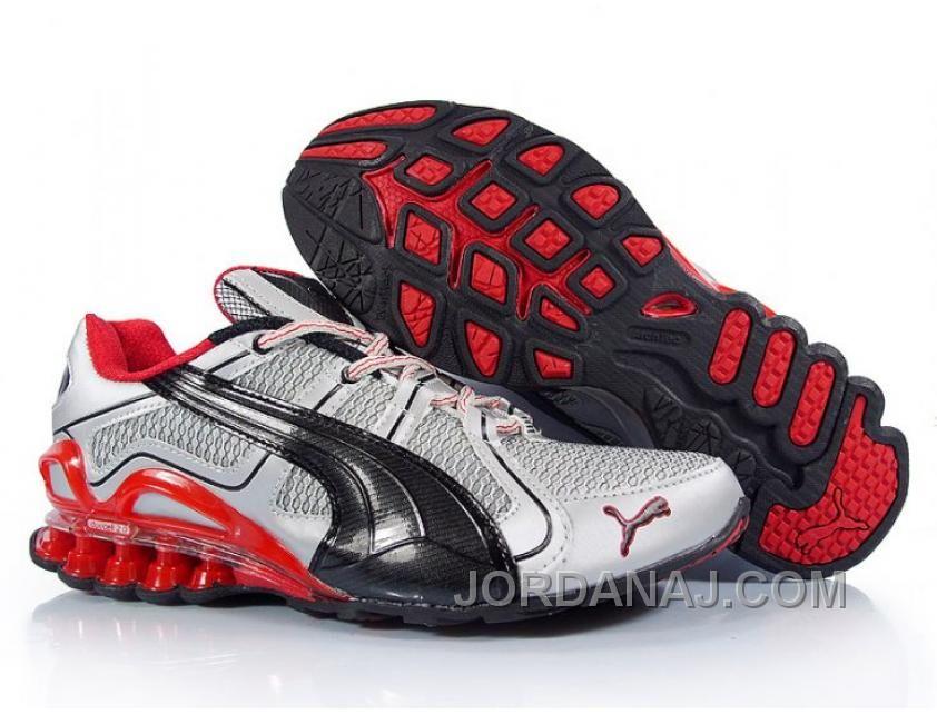 2010 Puma Running Shoes In Silver/Black/Red Super Deals, Price: $91.00 -  Air Jordan Shoes, 2016 New Jordan Shoes, Michael Jordan Shoes