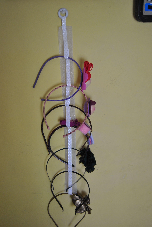 Para organizar diademas organizar pinterest - Ideas para colgar diademas ...