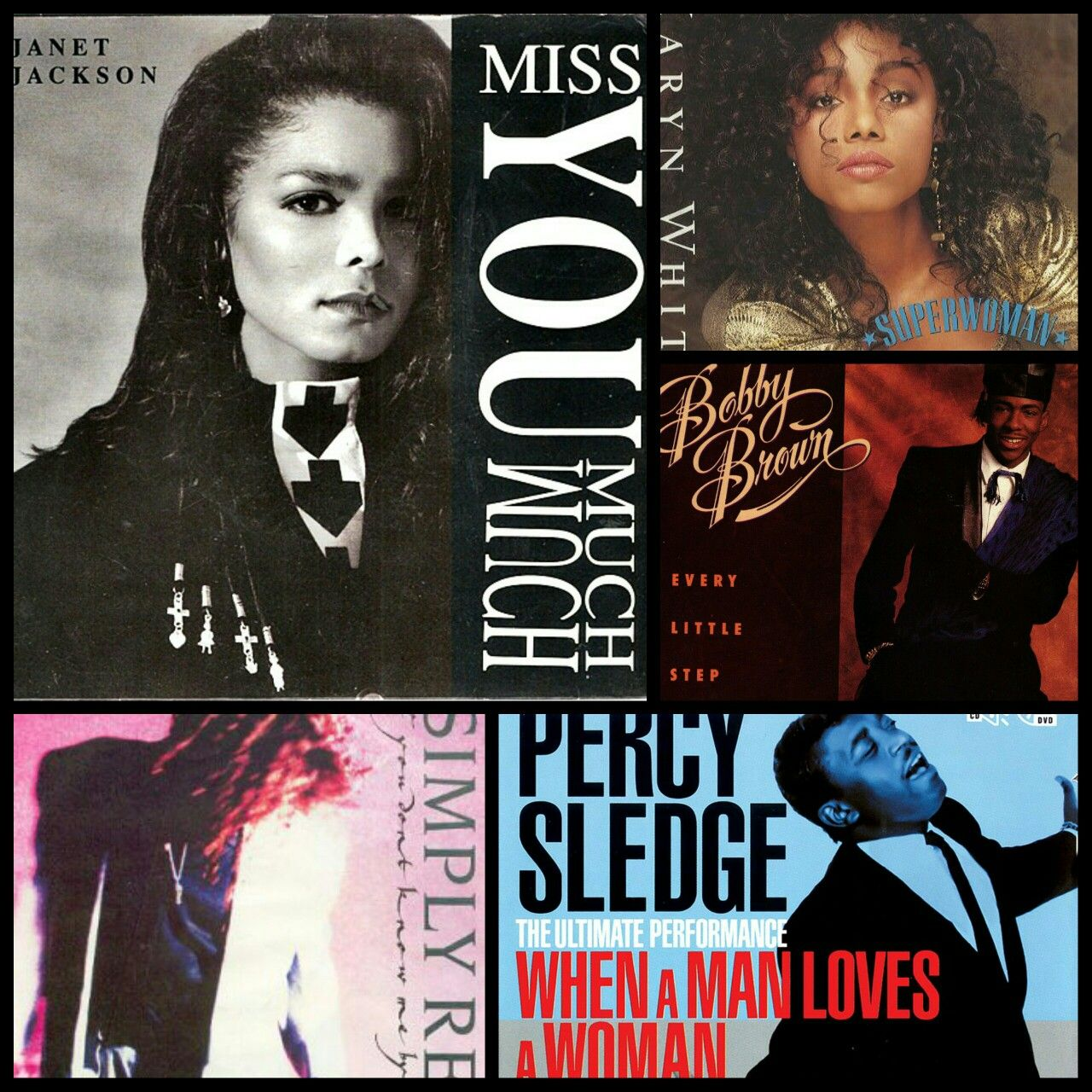 The 1990 nominees for Best R&B Song. Who won?