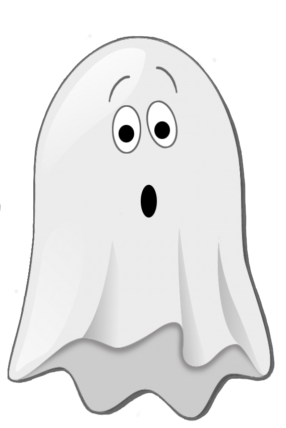 scared little ghost clip art (With images) | Halloween ...