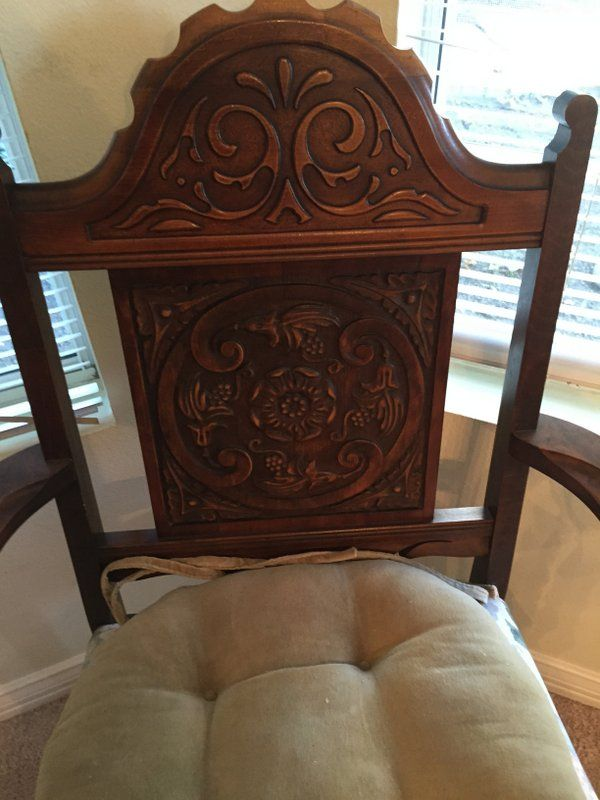 Rockford Furniture Company 1900 Dining Room Set Table 6 Chairs Buffet Chest