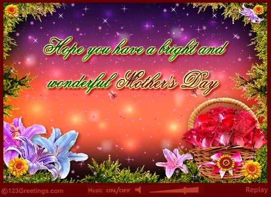 Wonderful Mother S Day Mother Day Wishes Mothers Day Happy Mothers Day