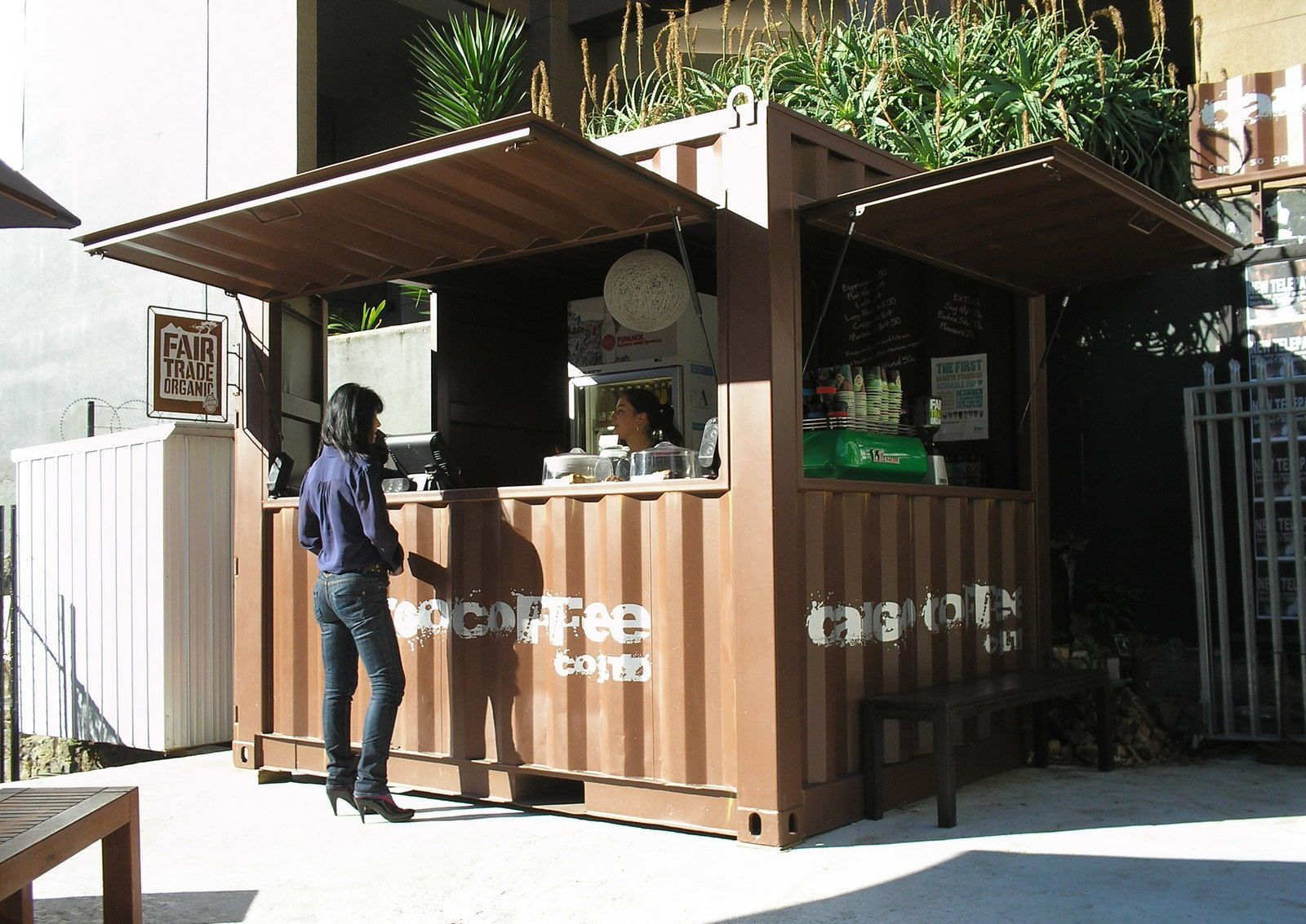 Shop Container Construction Cargo Coffee Addis Container Shipping Container Cafe Container Cafe Container Coffee Shop