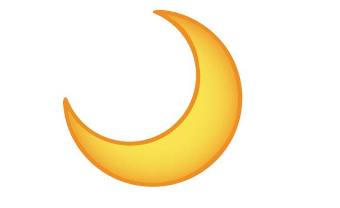 Crescent Moon Https Www Emojimantra Com Scrapbook Journal Emoji More Than Words