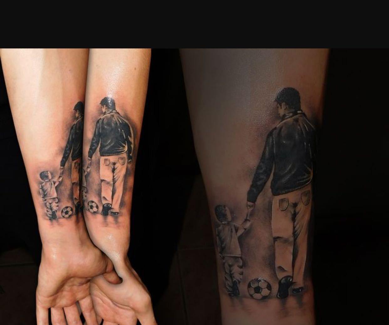 Tatuajes Union Padres E Hijos