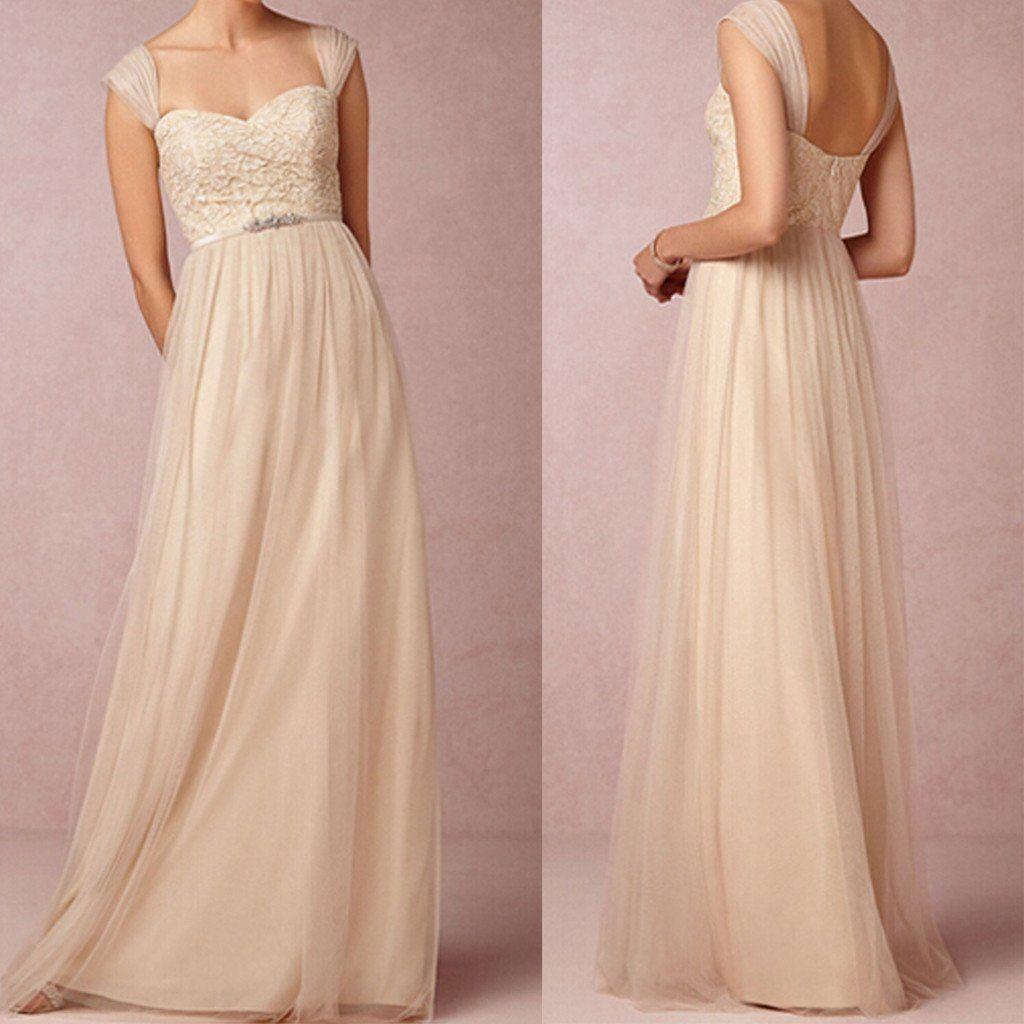 Elegant off shoulder sweet heart formal floorlength lace top tulle