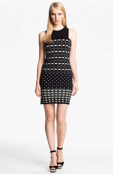 f949b489e6 Diamond Knit Tank Dress - Lyst