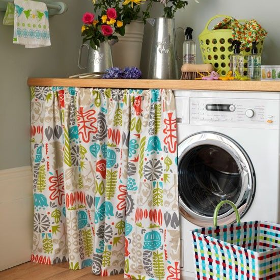 Country storage ideas Interiors, Laundry and Laundry rooms