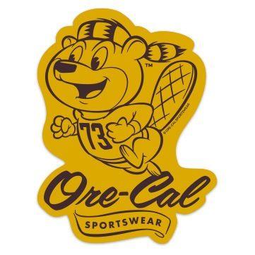 Howard Mascot sticker by Ore-Cal Sportswear of Portland, OR | $1 | Designer: Bob Smith #branding #graphicdesign