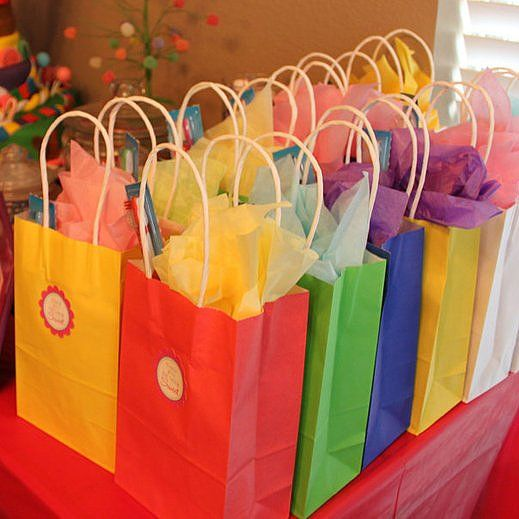 Fun Goodie Bag Ideas Without Candy Th Birthday Favors And - Children's birthday goodie bags