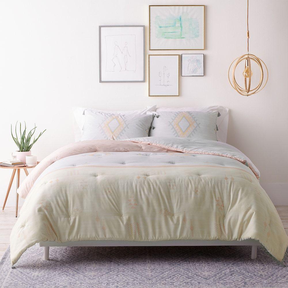 LC Lauren Conrad 3 pc. Tassel Comforter Set