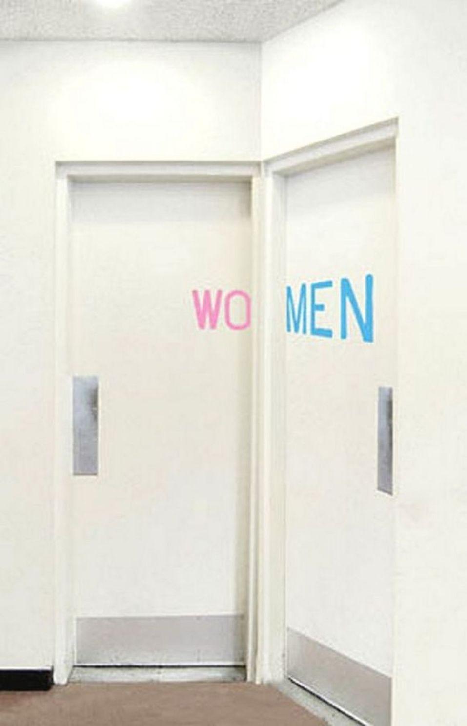 Onde faço xixi os sinais de casa de banho mais originais wall art