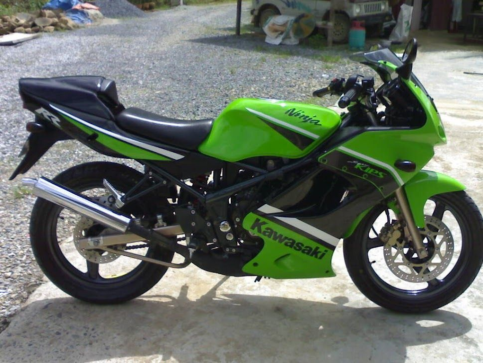 Modern Kawasaki Ninja 150RR 2 Stroke with KIPS.. for Indonesia ...