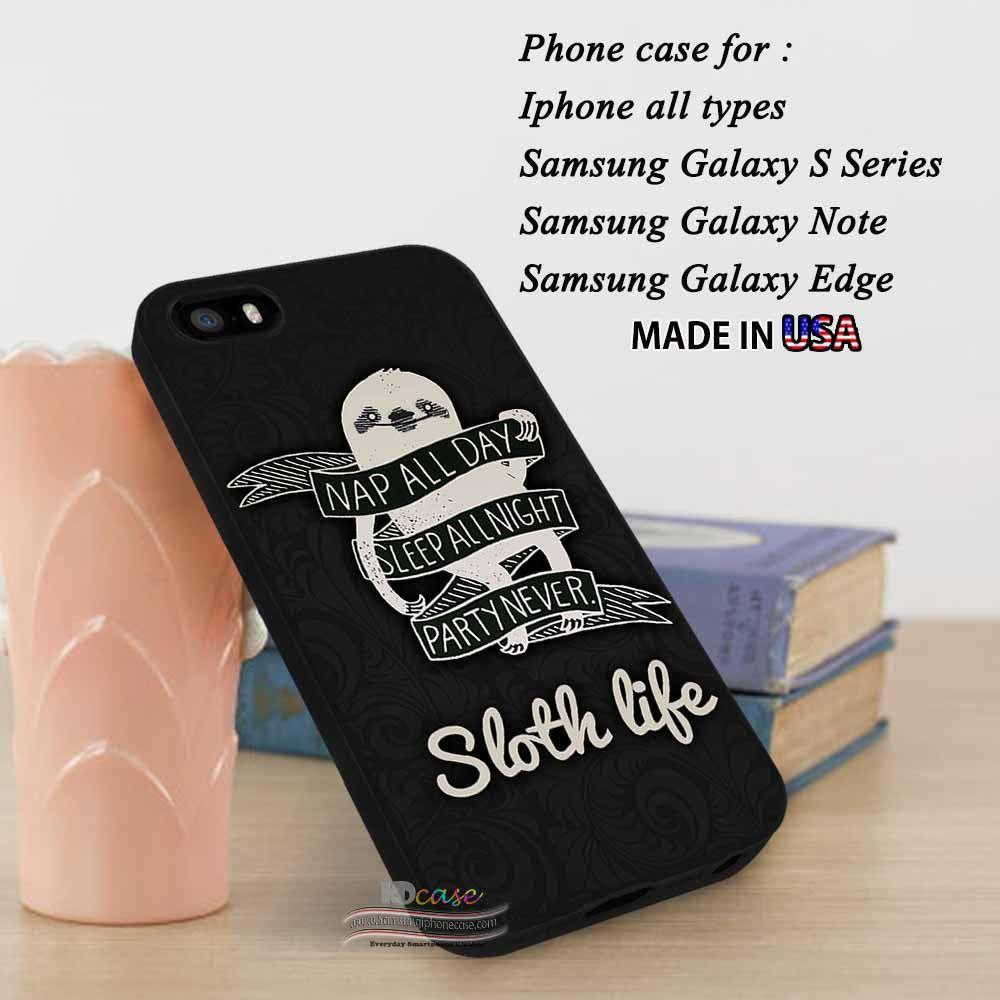 sloth phone case samsung s7