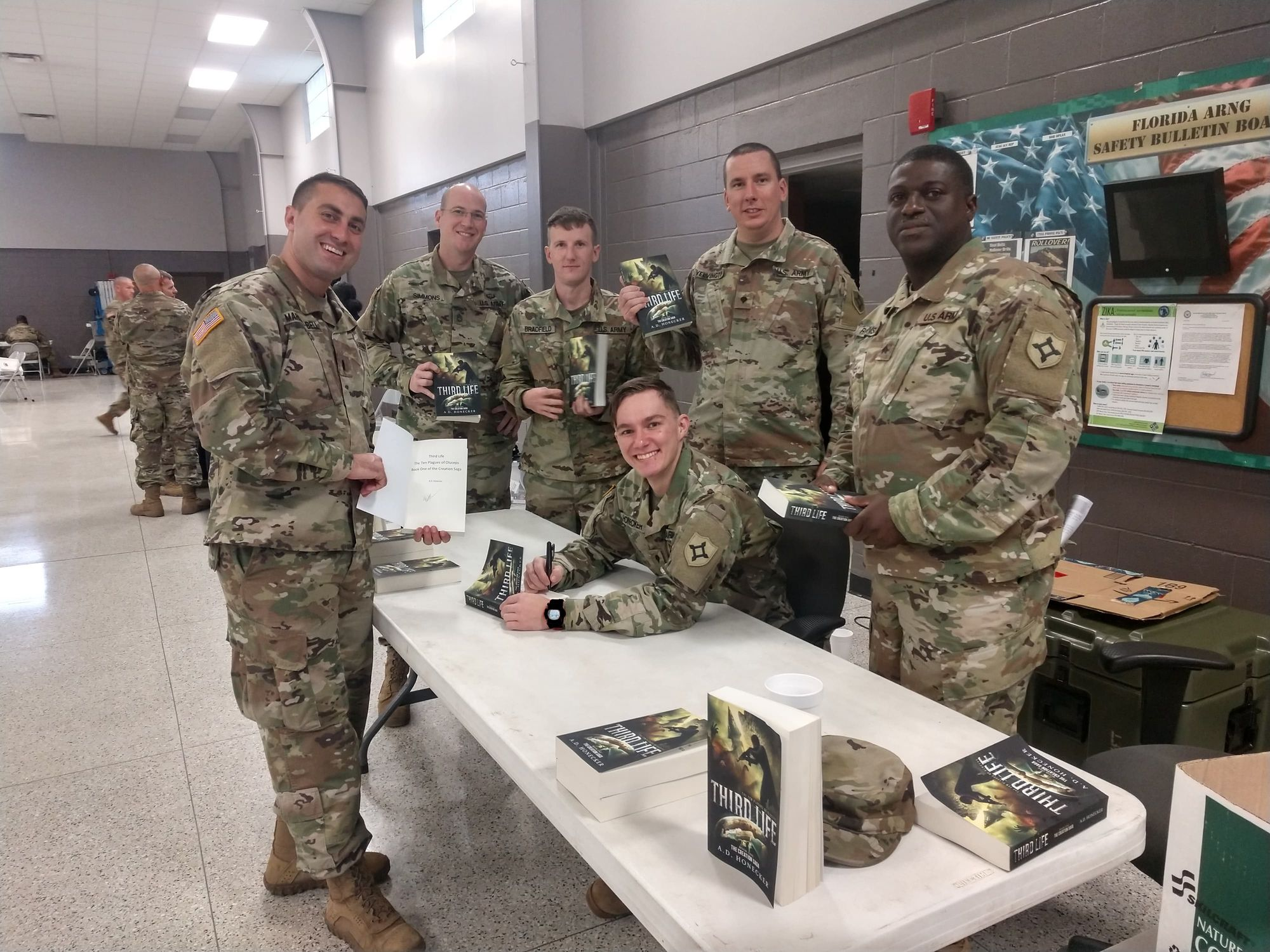 Spc Andrew Honecker Started Bringing In Chapters Of The Book He Was Writing To Share With His Battle Buddies And Get Their Opin My Hero Published Author Battle