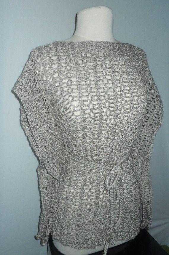 Crochet Top Pattern - Crochet Kimono - Plus Size Crochet - Crochet ...