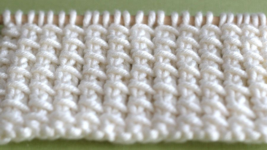 How To Knit The Bamboo Stitch Pattern Stitch Tutorials And Patterns
