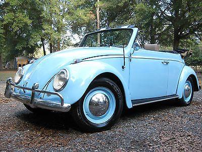 eBay: 1963 Volkswagen Beetle - Clic 2 Door 1963 Volkswagen ...