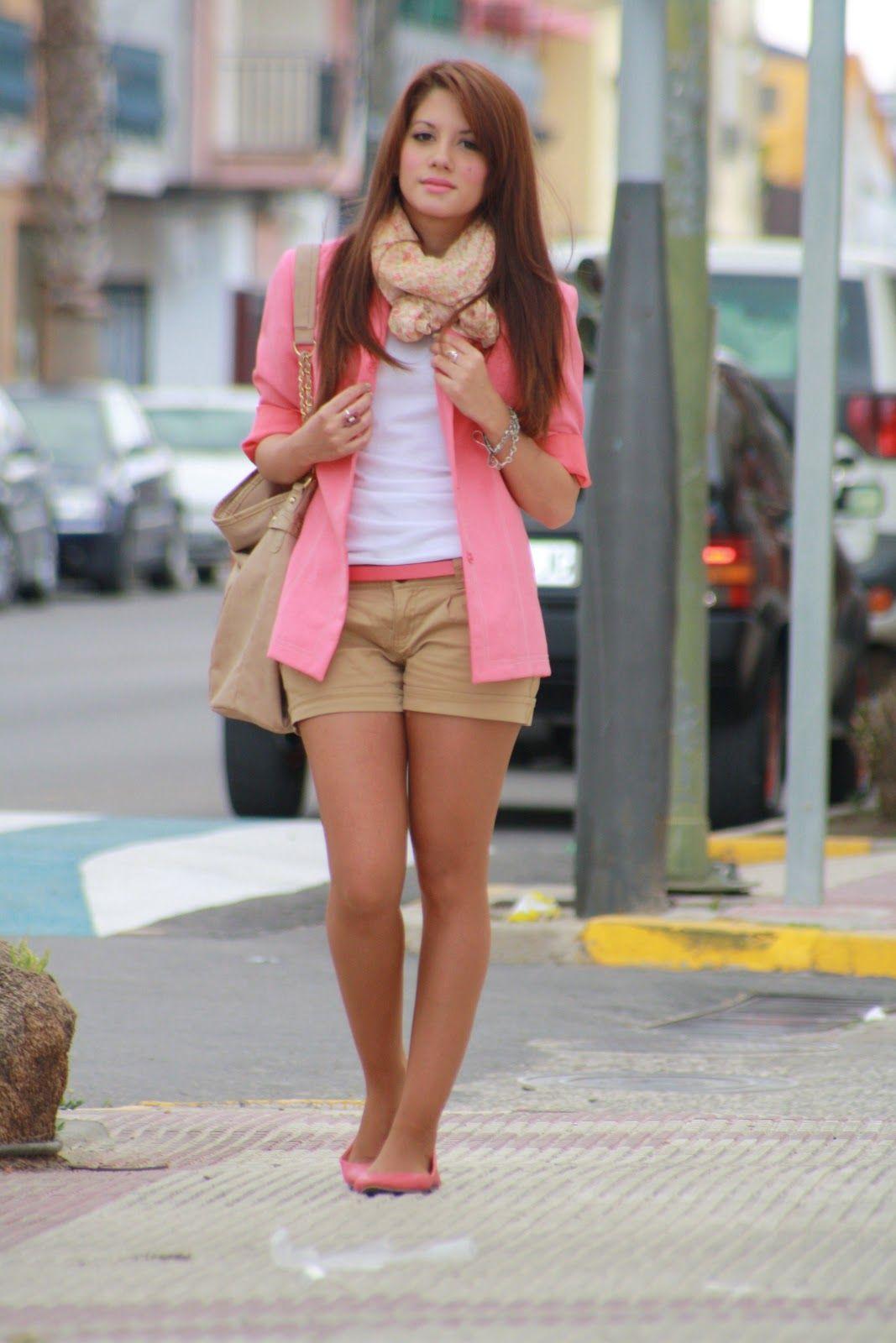 Zapatos rosa outfits pinterest pantalones amarillos - Colores para combinar con gris claro ...