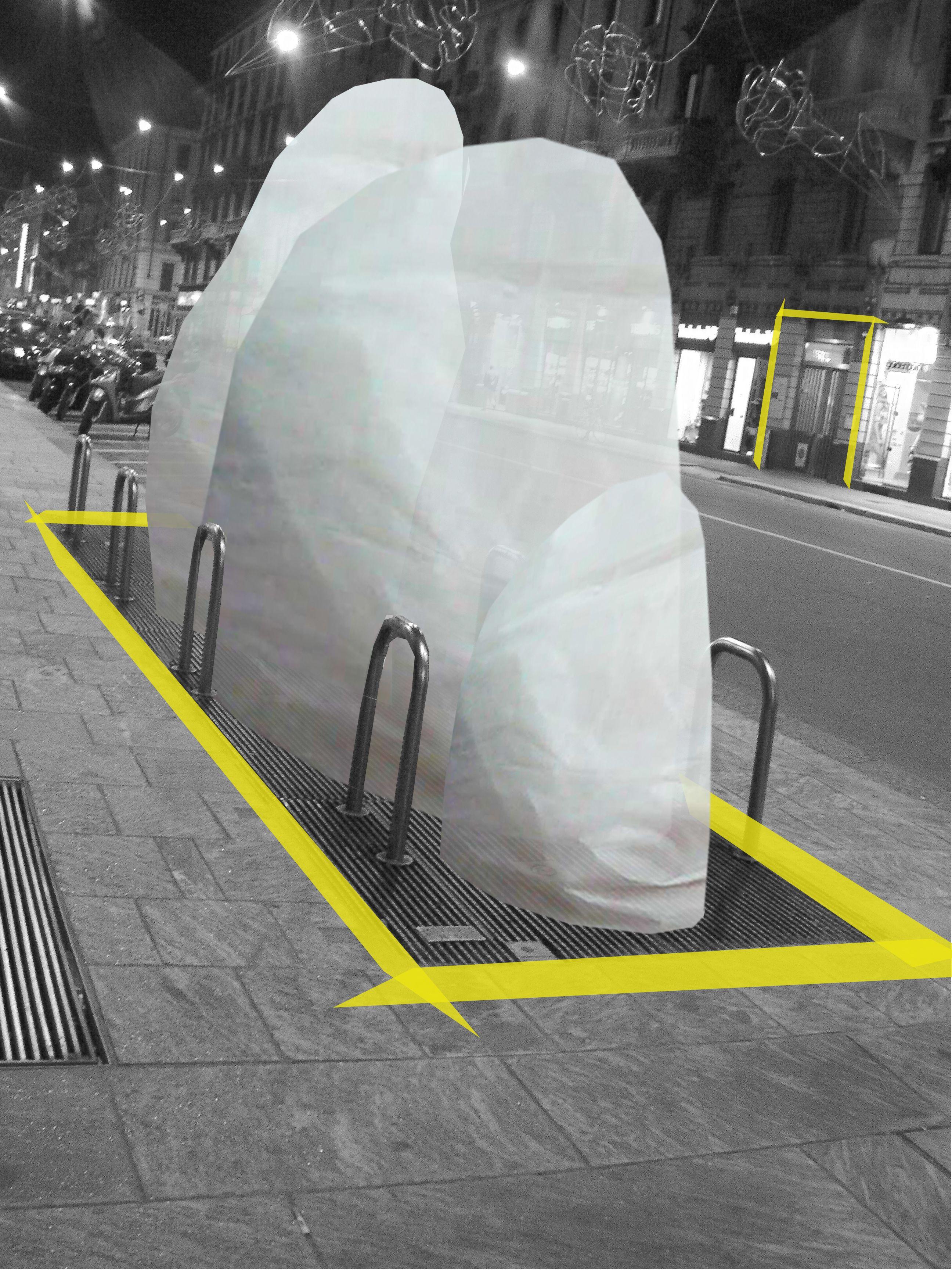 Contaminazioni urbane, allestimento temporaneo - Corso Buenosaires - Milano