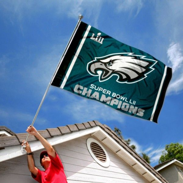 Philadelphia Eagles Super Bowl Champions Flag Nfl Flags