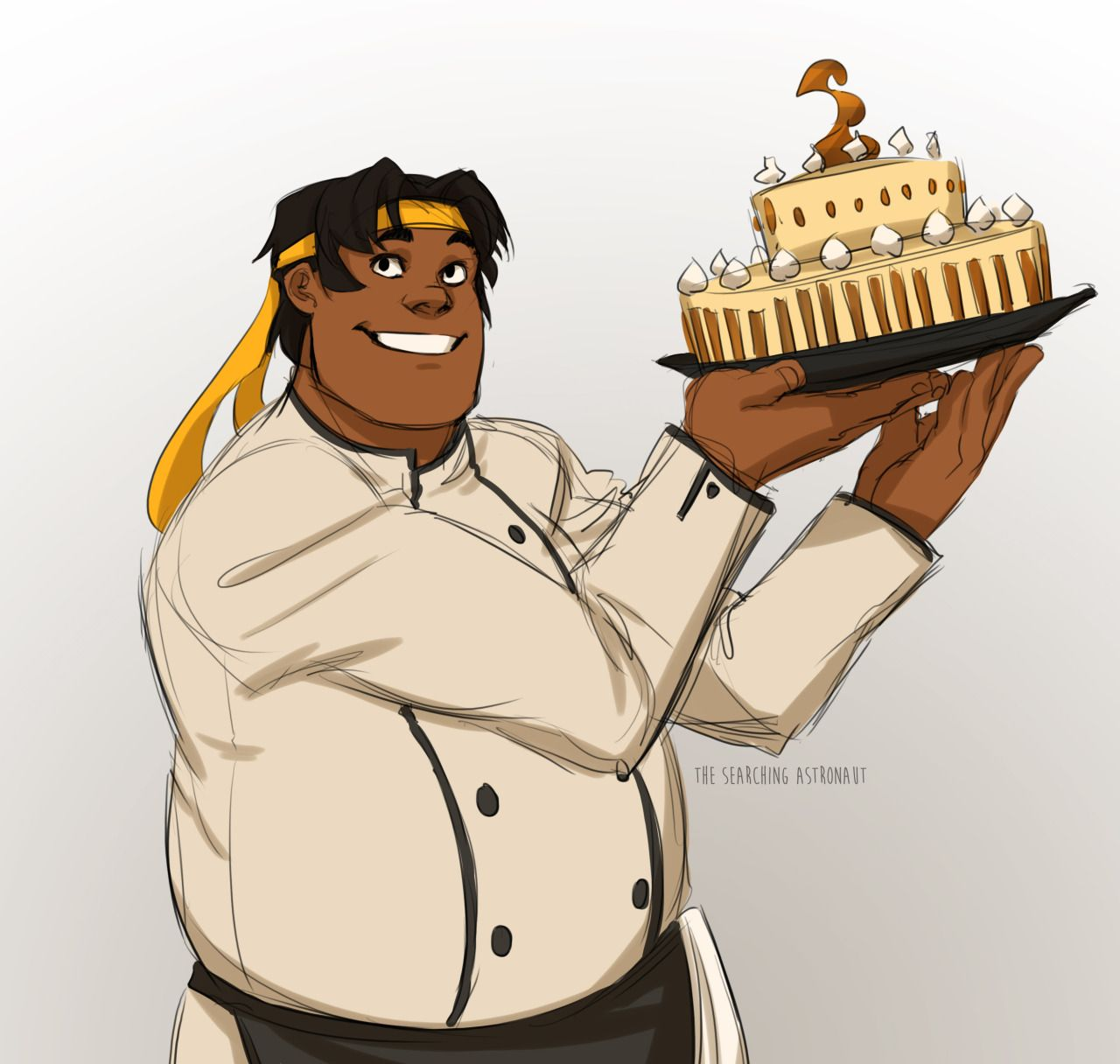 Hunk And His Birthday Cake From Voltron Legendary Defender Voltron