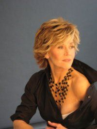 Celebrity Hairstyle Young Jane Fonda Jane Fonda Hairstyles Hair Styles Short Hair Styles